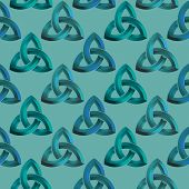Seamless Celtic Knot Background