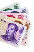 Chinese Yuan Currency Bills