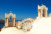Churches in Santorini