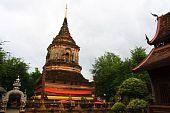 Ruin pagoda