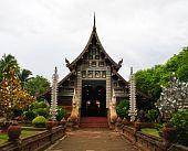 Lanna style church