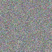 TV noise seamless texture. Vector.