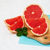 Grapefruit With Mint
