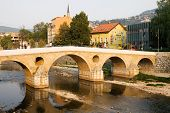 The Latin Bridge In Sarajevo