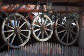 Cart-wheels.