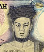Indonesia - Circa 1997: Raja Sisingamangaraja Xii