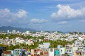 Vietnam nha trang city panorama