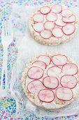 rice cake sandwiches