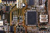 stock photo of rework  - Computer motherboard - JPG