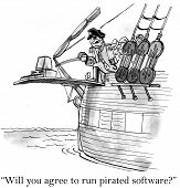 Pirated Software