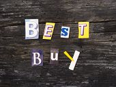 BEST BUY, marketing words