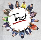 picture of trust  - Diverse People Holding Hands Trust Concept - JPG