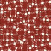 Random broken check pattern background-vintage red.