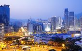 hongkong modern asia city night