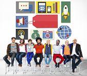 Branding Marketing Identity Concept
