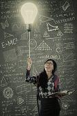 Smart Student Turn On The Light