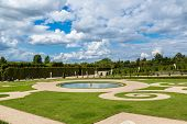 picture of versaille  - The Gardens of Versailles in a beautiful summer day in Paris France - JPG