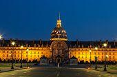 Les Invalides In  Paris