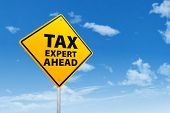 Tax Expert Ahead