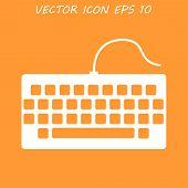 foto of keyboard  - keyboard icon - JPG