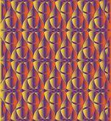 pic of triquetra  - Sunset color celtic knot triquetra background for design process - JPG