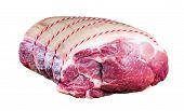 stock photo of shoulder-blade  - Farm British Boneless Pork Shoulder - JPG