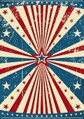 picture of patriot  - grunge patriotic poster - JPG