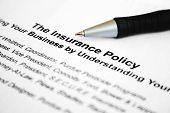 Die Versicherungspolice
