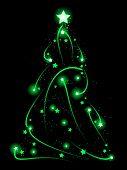Swirly Xmas tree