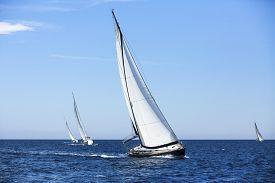 image of yacht  - Sailing ship yachts - JPG