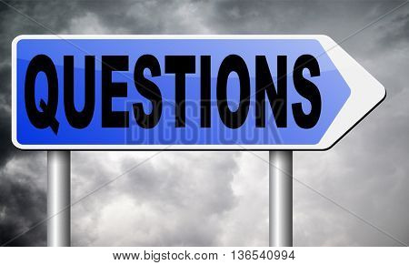 questions and solutions need serious answers helps or support desk information answer question with