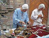 Artisans of the city Urbino