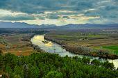 Ebro river, spain pic.