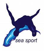 Sea Sports creative design