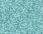 Rough Blue Tile Background