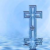 Cross Reflection In Blues