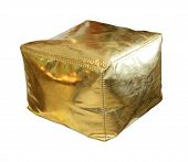 Gold Hassock