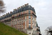 Apartment Building, Paris, France