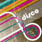 Enjoy disco. vector