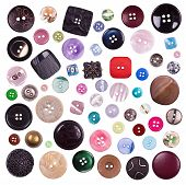 Collection Of Various Sewing Button