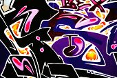 Great Graffiti tag, colorful and vibrant