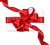 White Box With Red Bow