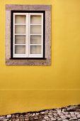 Simple view of a window in Lisbon, Sintra