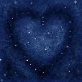 Star Heart In The Galaxy