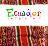 ecuador ornament