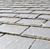 Slate Roof Closeup
