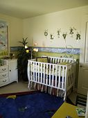 Playful baby's room