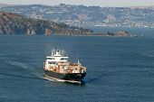 Cargo Boat by Island