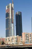 New building, Madrid Spain