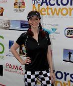 TARZANA, CA - APRIL 18: Annie Wersching arrives at the 8th annual